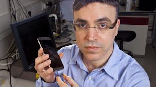 SNIFFPHONE Device Detects Disease.